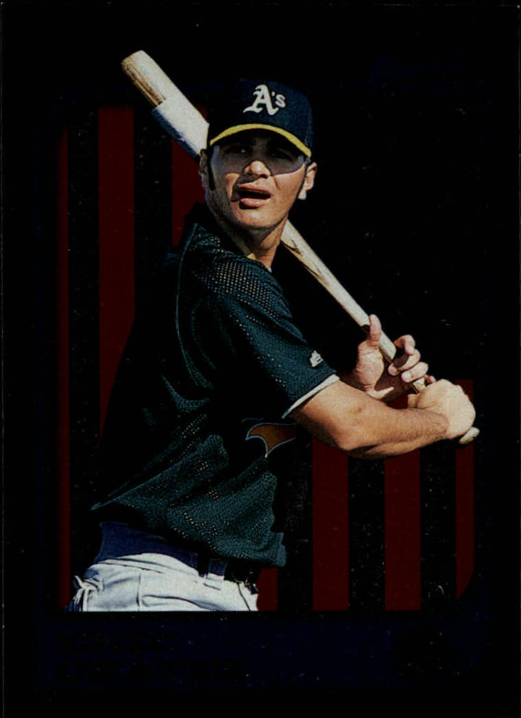1997 Bowman International #210 Eric Chavez