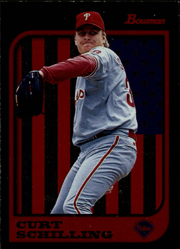 1997 Bowman International #232 Curt Schilling