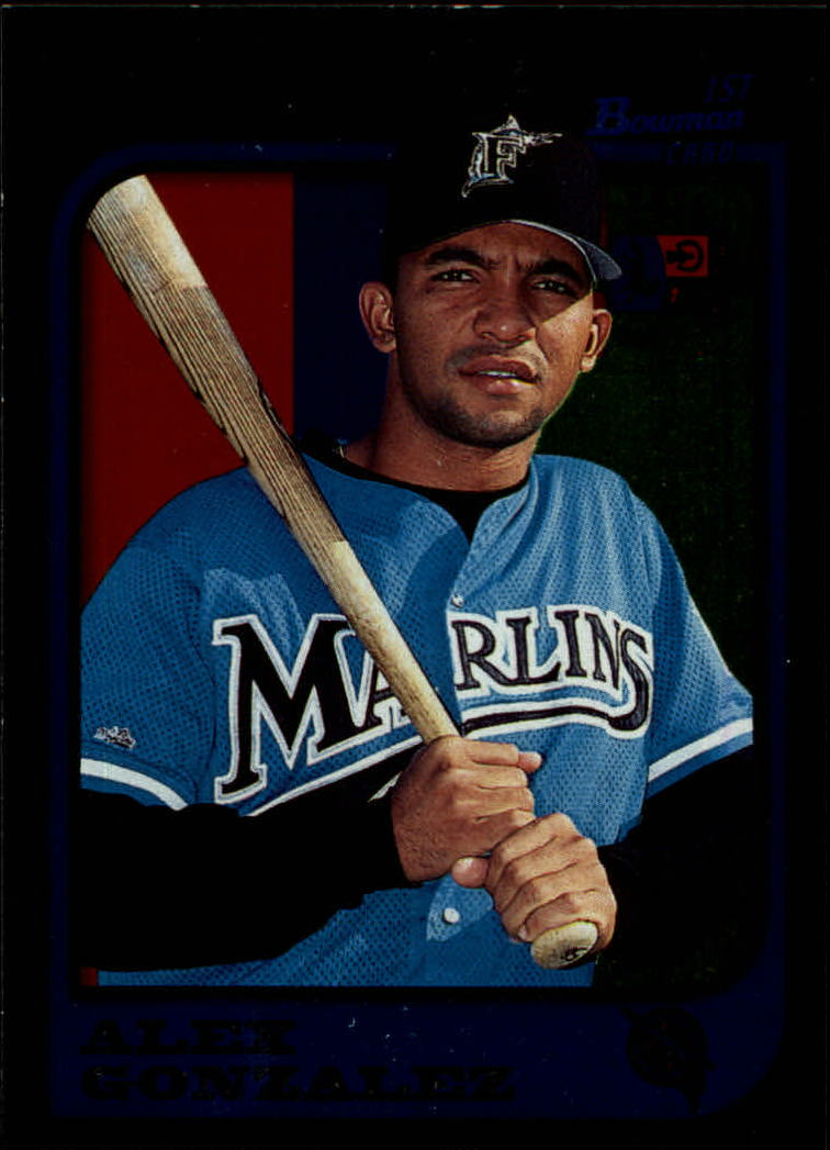 1997 Bowman International #298 Alex Gonzalez