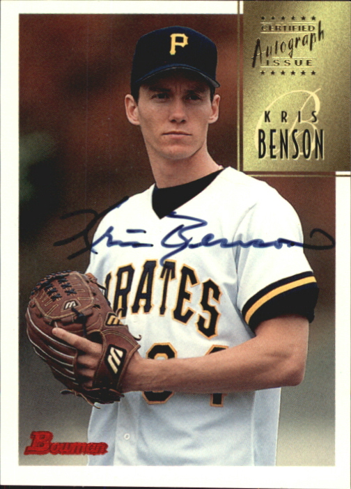 1997 Bowman Certified Black Ink Autographs #CA5 Kris Benson