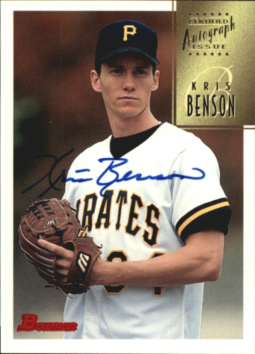 1997 Bowman Certified Blue Ink Autographs #CA5 Kris Benson