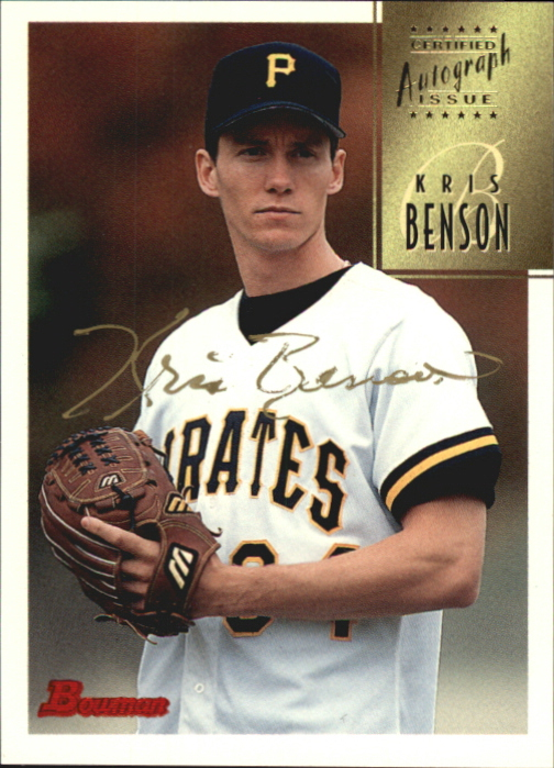 1997 Bowman Certified Gold Ink Autographs #CA5 Kris Benson