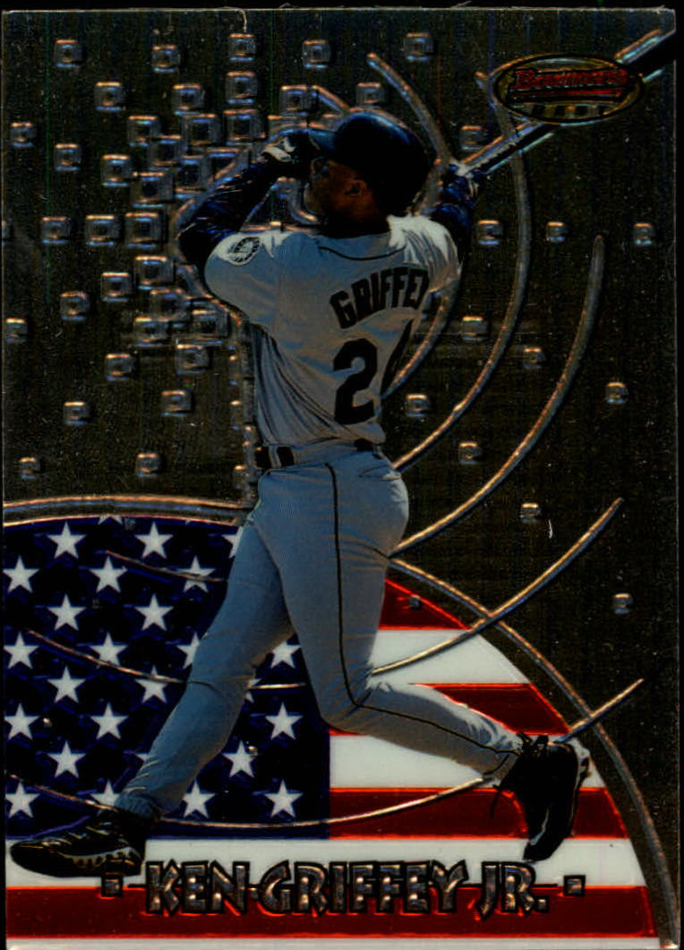1997 Bowman International Best #BBI2 Ken Griffey Jr.