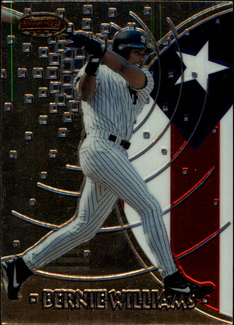 1997 Bowman International Best #BBI4 Bernie Williams