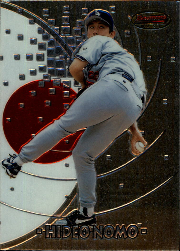 1997 Bowman International Best #BBI5 Hideo Nomo