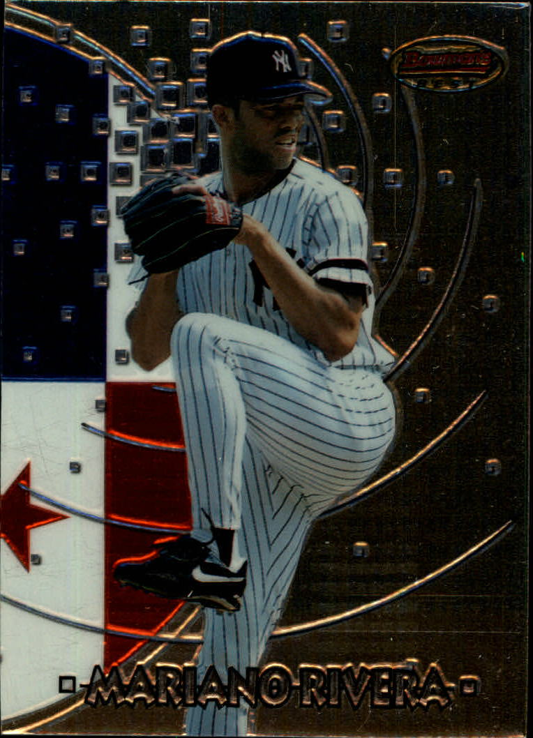 1997 Bowman International Best #BBI9 Mariano Rivera