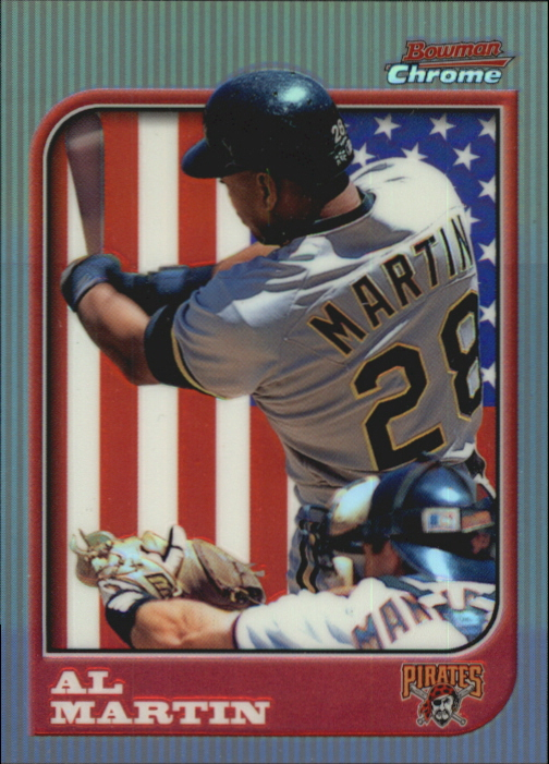 1997 Bowman Chrome International Refractors #26 Al Martin