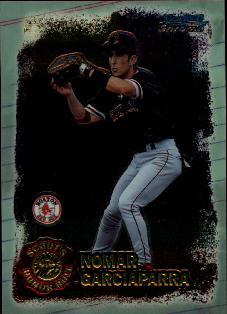 1997 Bowman Chrome Scout's Honor Roll #SHR15 Nomar Garciaparra