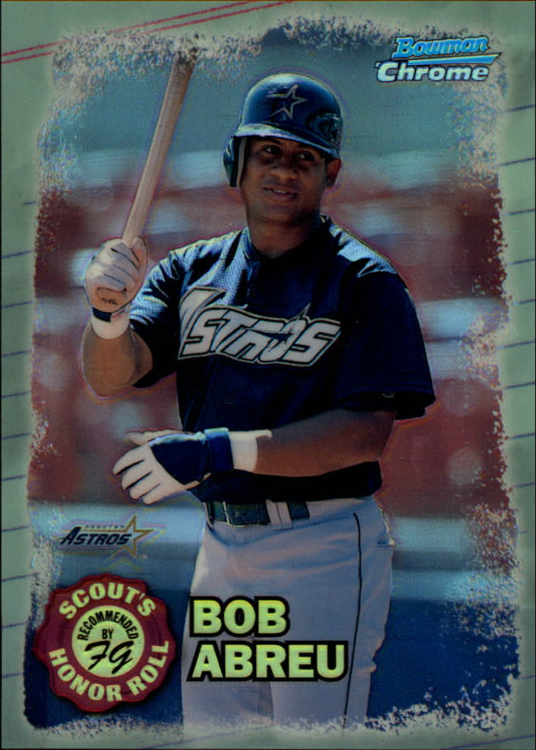 1997 Bowman Chrome Scout's Honor Roll Refractor #SHR2 Bob Abreu