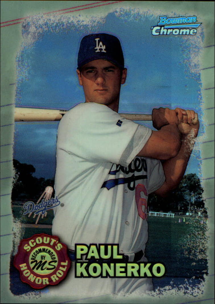 1997 Bowman Chrome Scout's Honor Roll Refractor #SHR4 Paul Konerko
