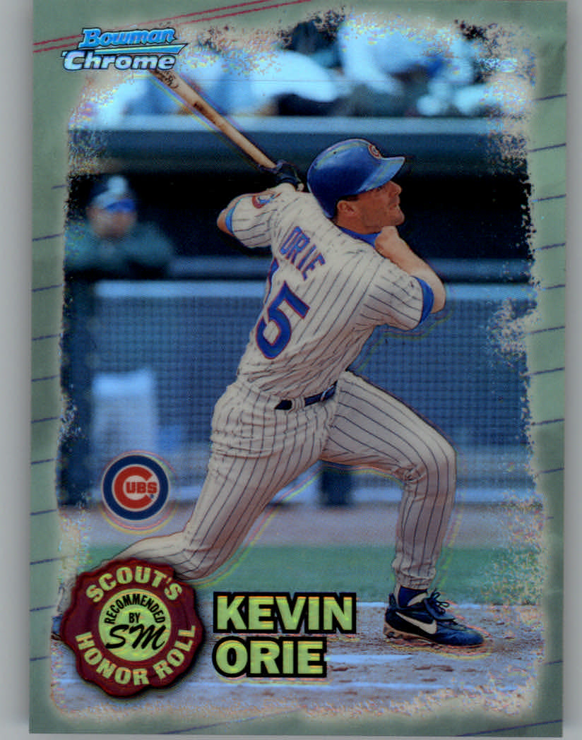 1997 Bowman Chrome Scout's Honor Roll Refractor #SHR5 Kevin Orie