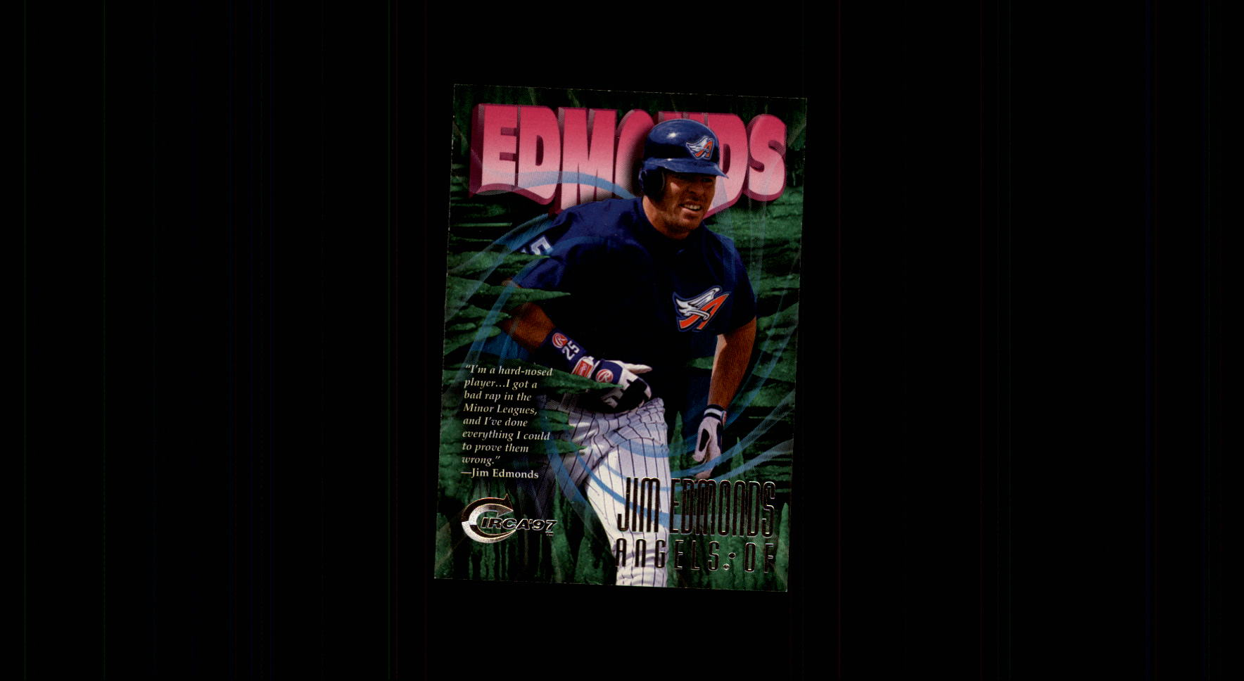 1997 Circa #97 Jim Edmonds
