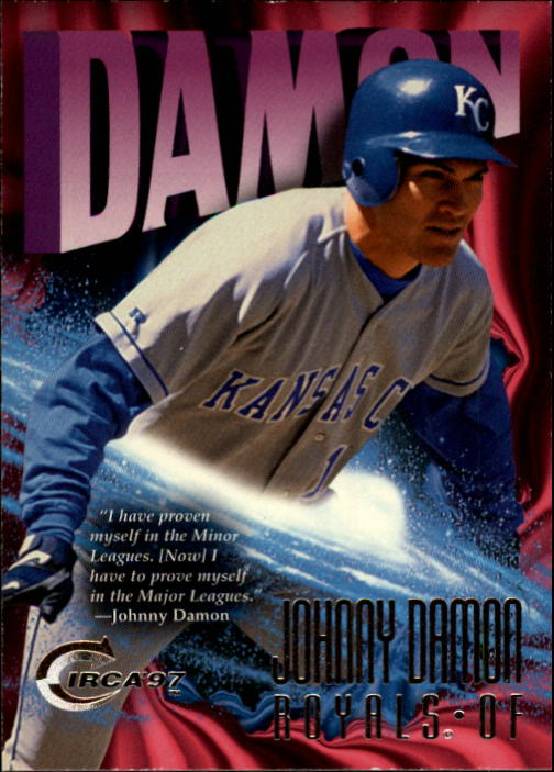 1997 Circa #111 Johnny Damon