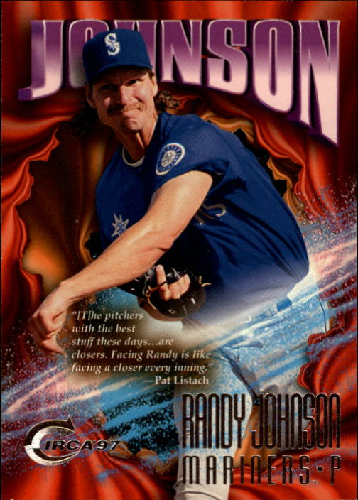 1997 Circa #276 Randy Johnson