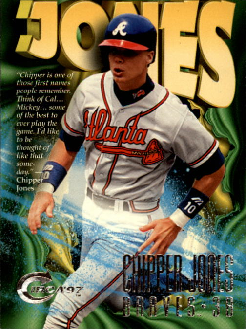 1997 Circa #381 Chipper Jones