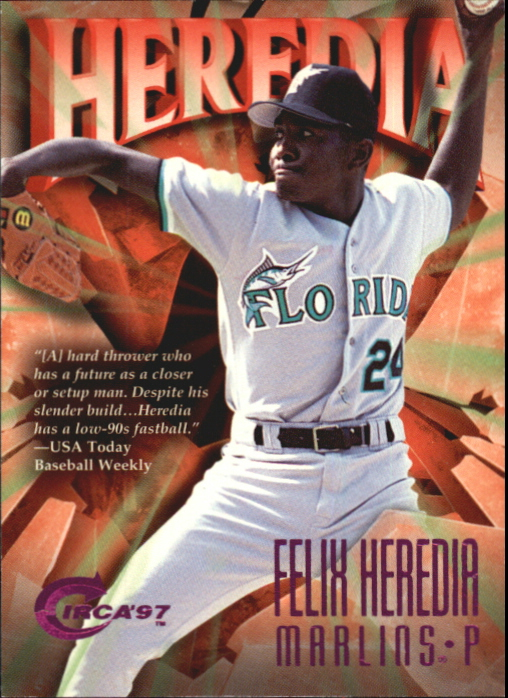 1997 Circa Rave #55 Felix Heredia