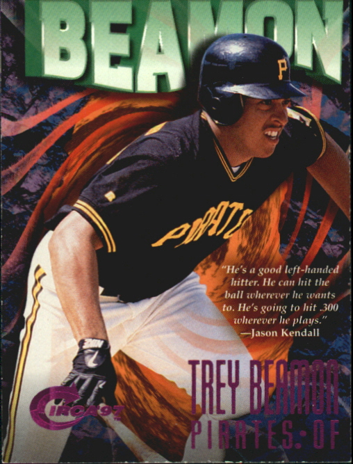 1997 Circa Rave #88 Trey Beamon
