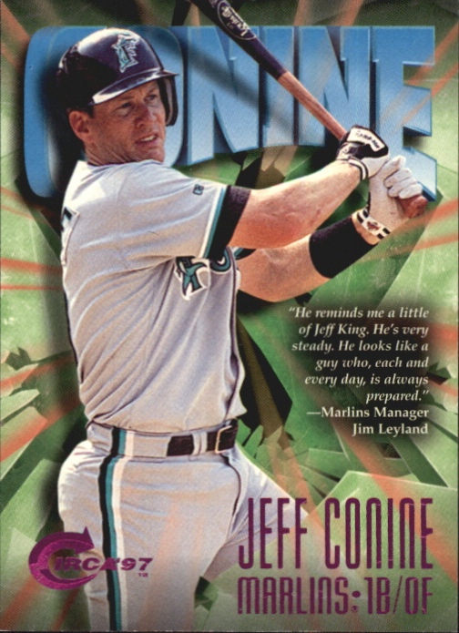 1997 Circa Rave #110 Jeff Conine
