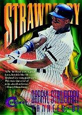 1997 Circa Rave #221 Darryl Strawberry