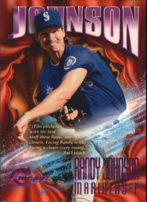 1997 Circa Rave #276 Randy Johnson