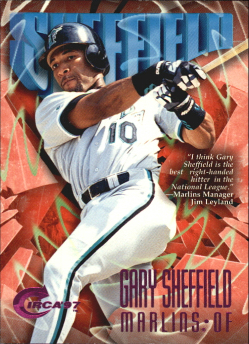 1997 Circa Rave #299 Gary Sheffield
