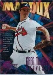 1997 Circa Rave #337 Greg Maddux