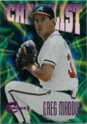 1997 Circa Rave #400 Greg Maddux CL
