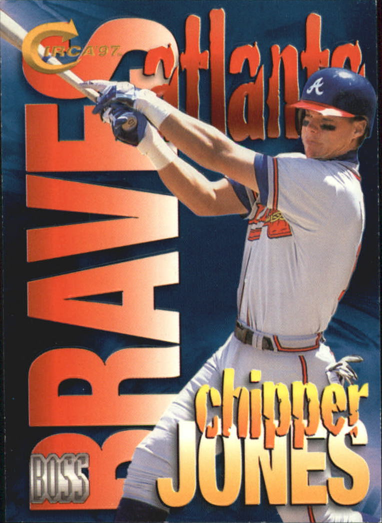 1997 Circa Boss #10 Chipper Jones