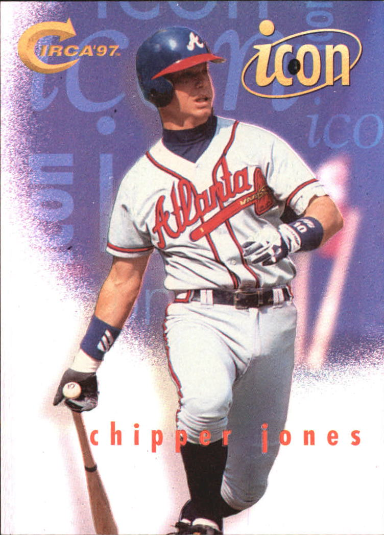 1997 Circa Icons #5 Chipper Jones