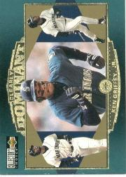 1997 Collector's Choice Griffey Clearly Dominant #CD5 Ken Griffey Jr.
