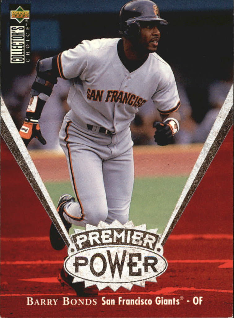 1997 Collector's Choice Premier Power #PP9 Barry Bonds