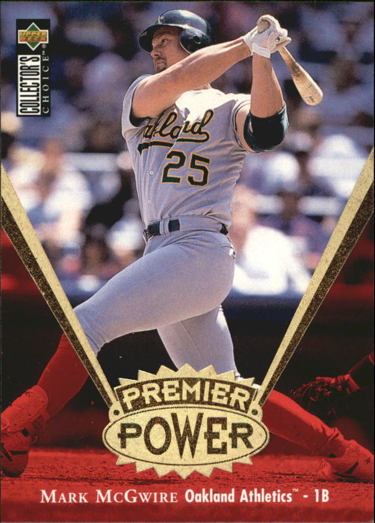 1997 Collector's Choice Premier Power Gold #PP1 Mark McGwire
