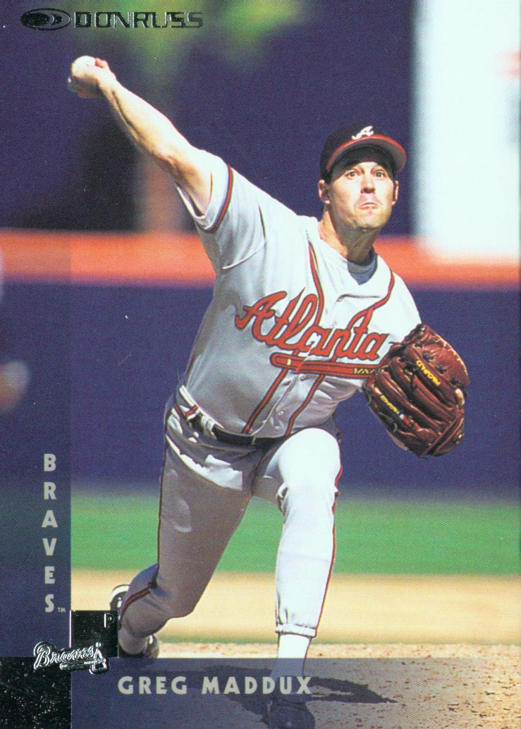1997 Donruss #7 Greg Maddux
