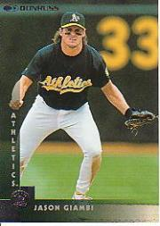 1997 Donruss #47 Jason Giambi