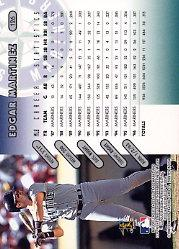 1997 Donruss #126 Edgar Martinez back image