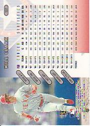 1997 Donruss #137 Will Clark back image