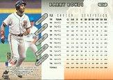 1997 Donruss #167 Barry Bonds back image