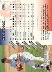 1997 Donruss #208 Jeff Suppan back image