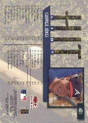 1997 Donruss #401 Chipper Jones HIT