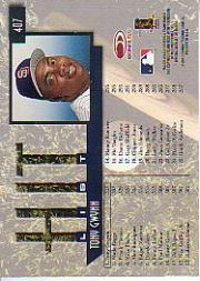 1997 Donruss #407 Tony Gwynn HIT back image