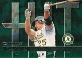 1997 Donruss #413 Mark McGwire HIT front image