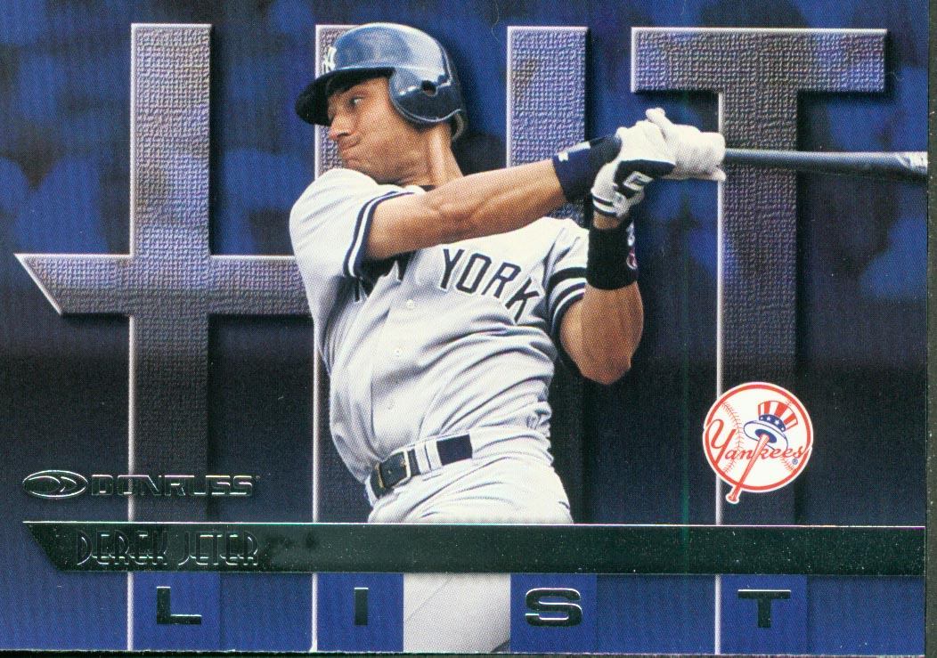 1997 Donruss #415 Derek Jeter HIT