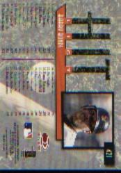 1997 Donruss #421 Barry Bonds HIT back image
