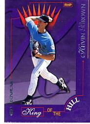 1997 Donruss #431 Kevin Brown KING