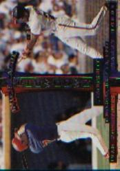 1997 Donruss #438 B.Bonds/I.Rodriguez IS front image