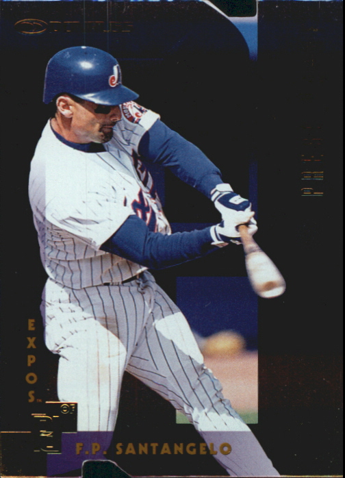 1997 Donruss Gold Press Proofs #225 F.P. Santangelo