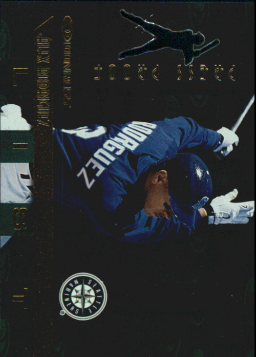 1997 Donruss Gold Press Proofs #404 Alex Rodriguez HIT