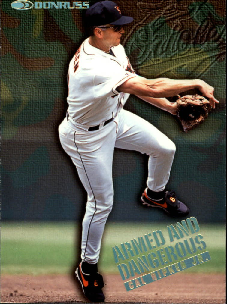 1997 Donruss Armed and Dangerous #8 Cal Ripken