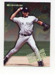 1997 Donruss Armed and Dangerous #11 Derek Jeter