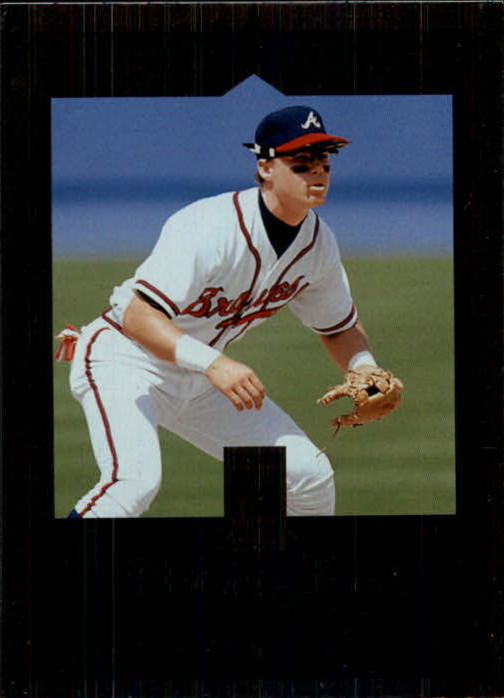 1997 Donruss Elite #8 Chipper Jones